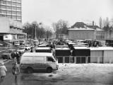bazarek przy hotelu Skanpol