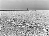 zamarznięte morze w zimę stulecia
