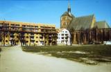 pierwsze budynki starówki