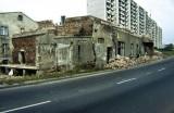 widok na ulicę Budowlaną