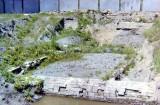 średniowieczny trakt w okolicach murów miejskich