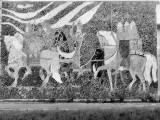 mozaika na klubie garnizonowym